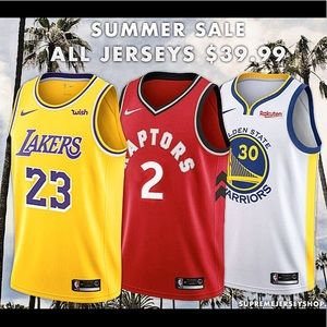 Hand Stitched Jerseys - Only $39.99